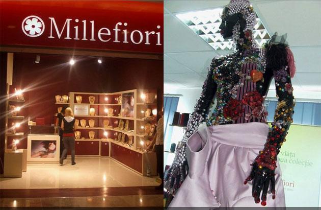 Millefiori aduce în Iulius Mall Cluj culorile şi strălucirile sticlei veneţiene