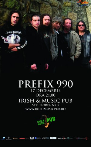 17 Decembrie 2010, Irish & Music Pub, Prefix 990