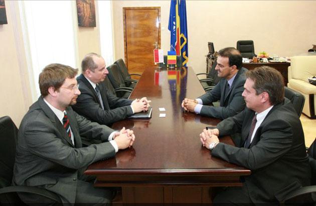Ambasadorul Republicii Polone, pentru prima dată în vizită la Cluj-Napoca