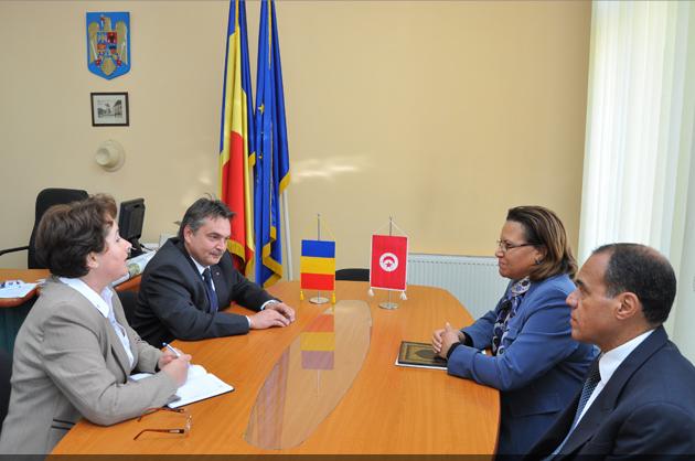 Ambasadorul Republicii Tunisia, în vizită la Primăria Cluj-Napoca