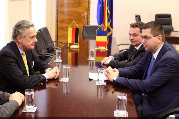 Ambasadorul Germaniei, în vizită la Primăria Cluj-Napoca