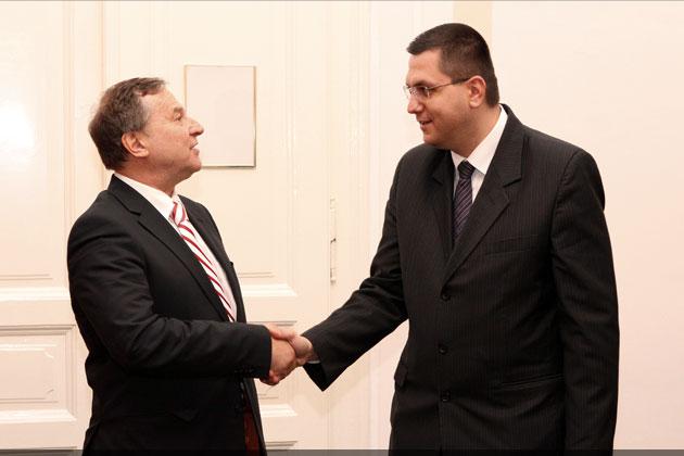 Ambasadorul Republicii Austria, în vizită la Primăria Cluj-Napoca