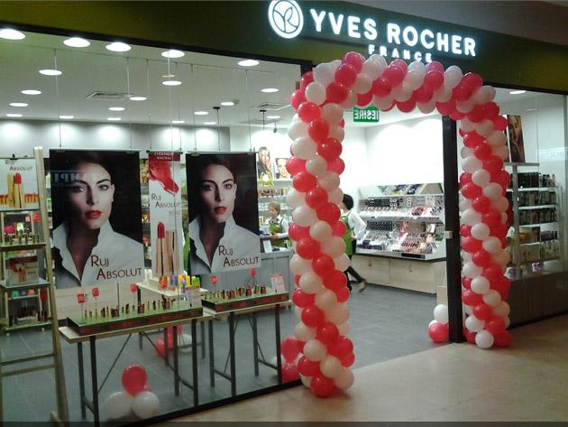 S-a deschis Yves Rocher La Iulius Mall Cluj