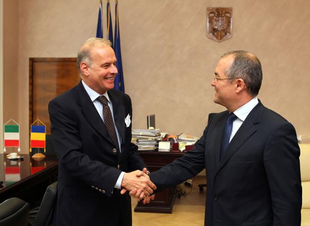 Ambasadorul Italiei în vizită la Primăria Cluj-Napoca