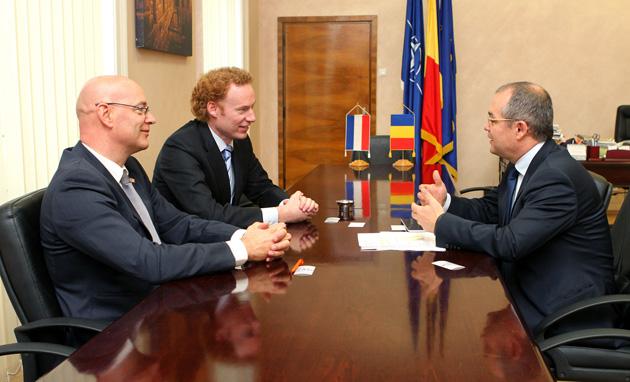 Delegaţie oficială olandeză la Primă