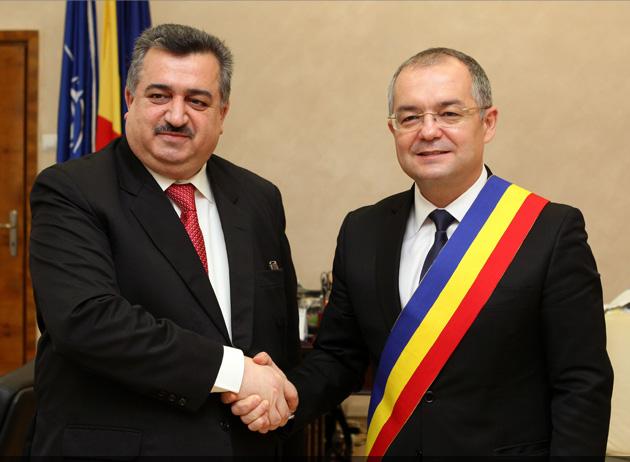 Întâlnire cu Ambasadorul Republicii Irak în România