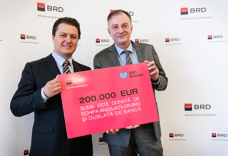 BRD donează 200.000 de euro pentru integrarea copiilor abandonaţi