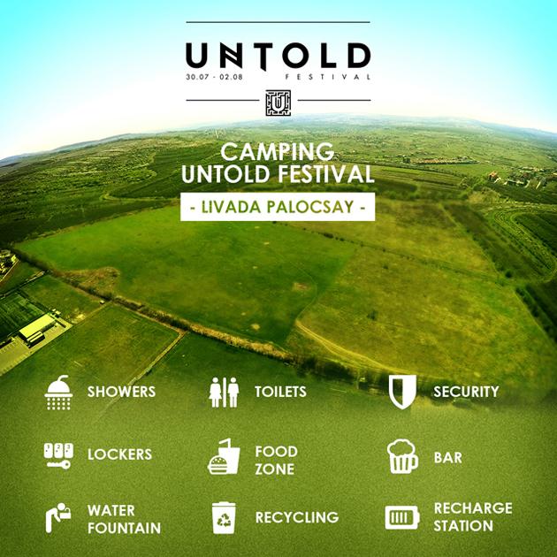 Peste 25.000 noi locuri de cazare la UNTOLD Festival