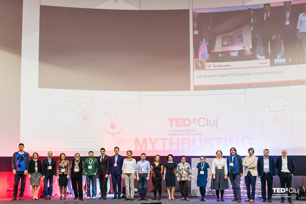 TEDxCluj (2016) la final: mituri demolate, idei inspirate și o comunitate inovativă